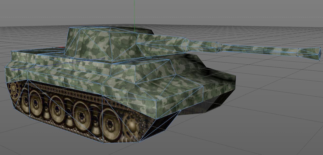 lowpoly_tank